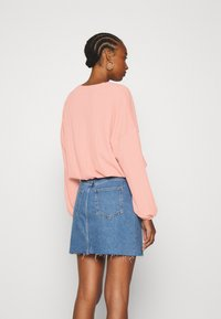 ONLY - ONLZILLE ONECK - Long sleeved top - misty rose - 2