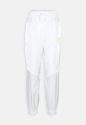 Tracksuit bottoms - white/volt