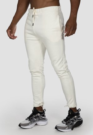 NKMR HOMELY  - Tracksuit bottoms - off white