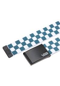 Vans - MN DEPPSTER II WEB - Belt - blue coral/checkerboard - 1