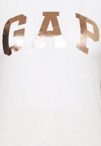 GAP - TEE LOGO - Top sdlouhým rukávem - snowflake milk - 2