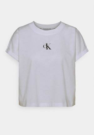 URBAN LOGO TEE - Print T-shirt - bright white