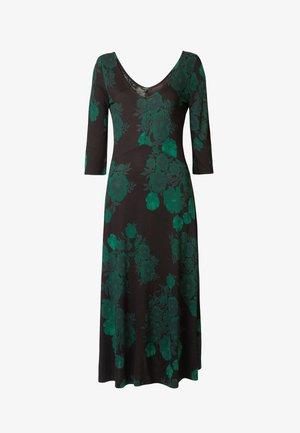 VEST YESS - Pletené šaty - green