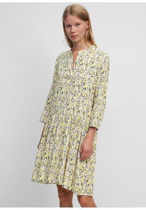 Day dress - multi/pistacchio shell