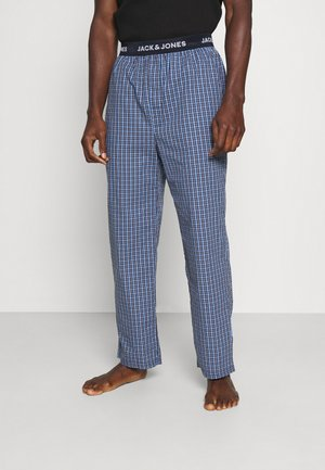 JACBLUEISH CHECK PANTS - Pyjamahousut/-shortsit - dress blues