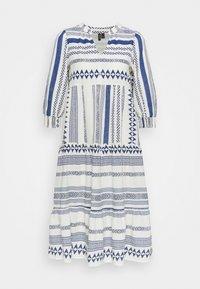 Vero Moda Petite - VMDICTHE CALF DRESS - Day dress - birch/new dicthe/sodalite blue - 0