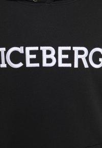 Iceberg - FELPA HOODIE - Hoodie - nero - 8