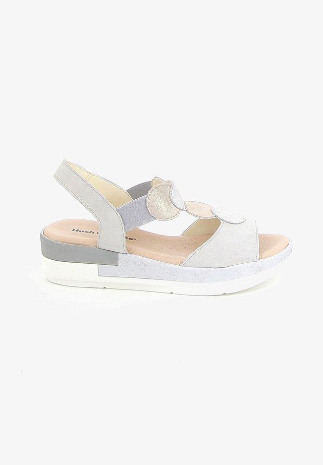 MIROP - Sandalen met sleehak - grey
