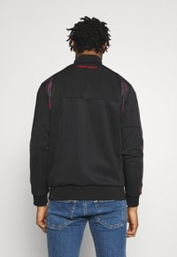 Night Addict - Zip-up hoodie - black/ red - 2