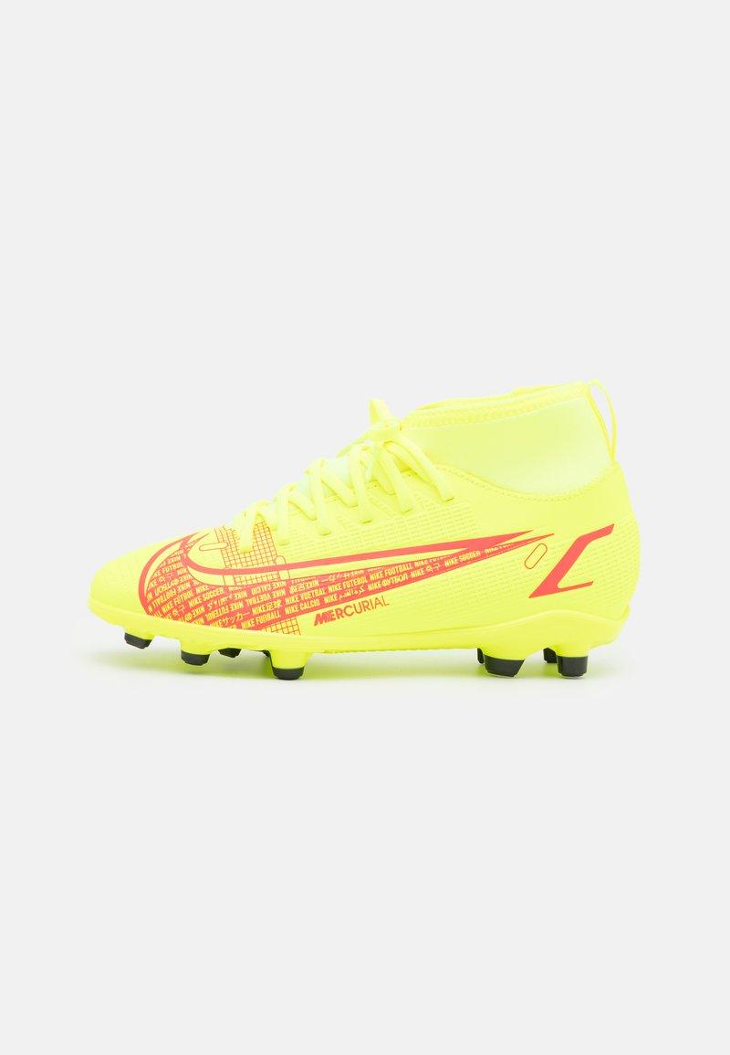 Nike Performance - MERCURIAL 8 CLUB MG UNISEX - Moulded stud football boots - volt/black/bright crimson