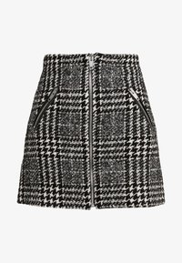 The Kooples - JUPE - A-line skirt - off-white/black - 3