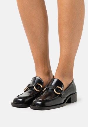 BELINDA - Nazouvací boty - noir