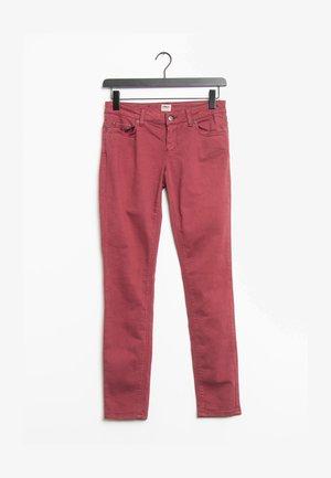 Spodnie materiałowe - red