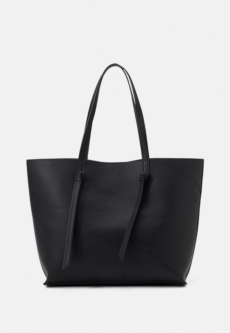 Pieces - PCGENNY SHOPPER - Tote bag - black