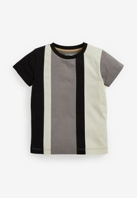 Next - 2 PACK - Print T-shirt - black - 3