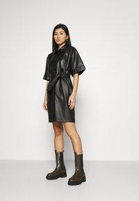 Oakwood - BREAK - Shirt dress - black - 1