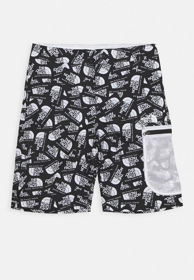 BOYS HIGH CLASS WATER SHORT - Sports shorts - black