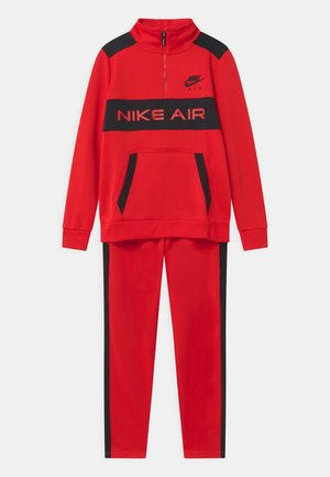AIR SET UNISEX - Tracksuit - university red/black