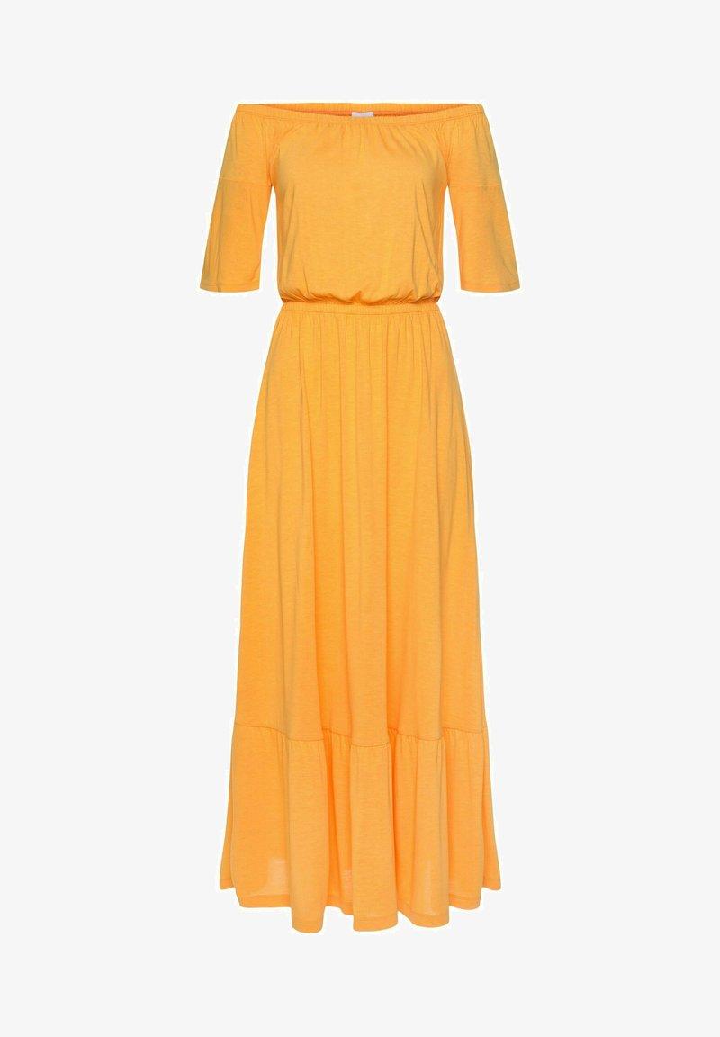 LASCANA - Maxi dress - sonnengelb
