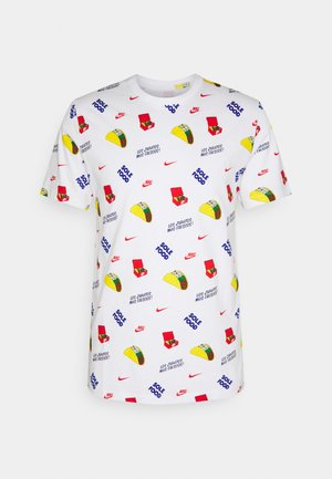 TEE FOOD - T-shirt med print - white