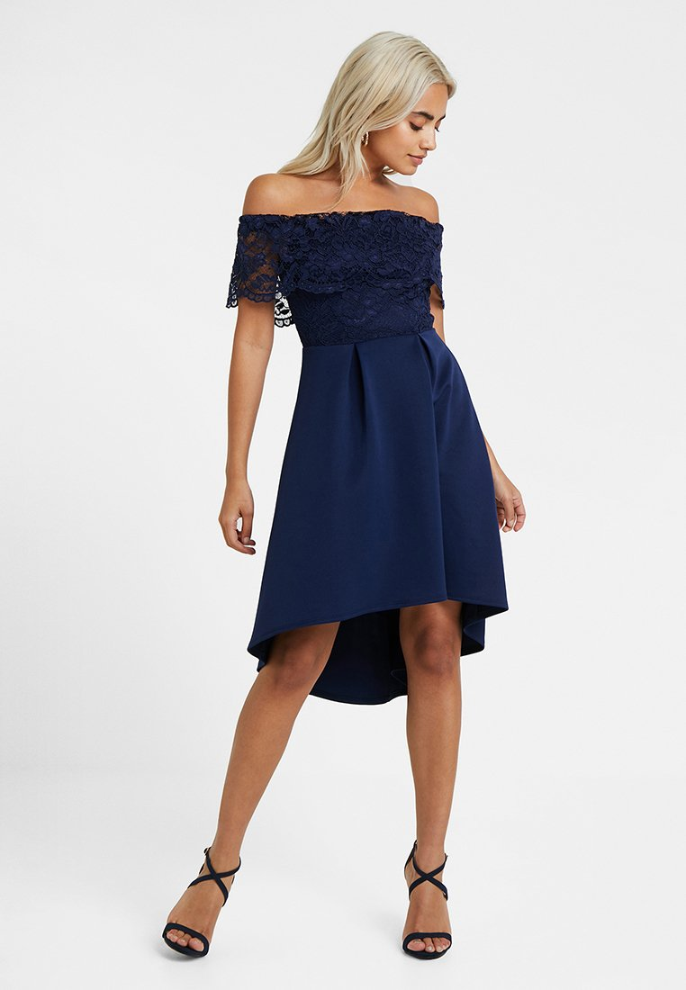 SISTA GLAM PETITE - LIAH - Cocktail dress / Party dress - navy