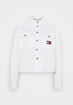CROPPED UTILITY - Koszula - white