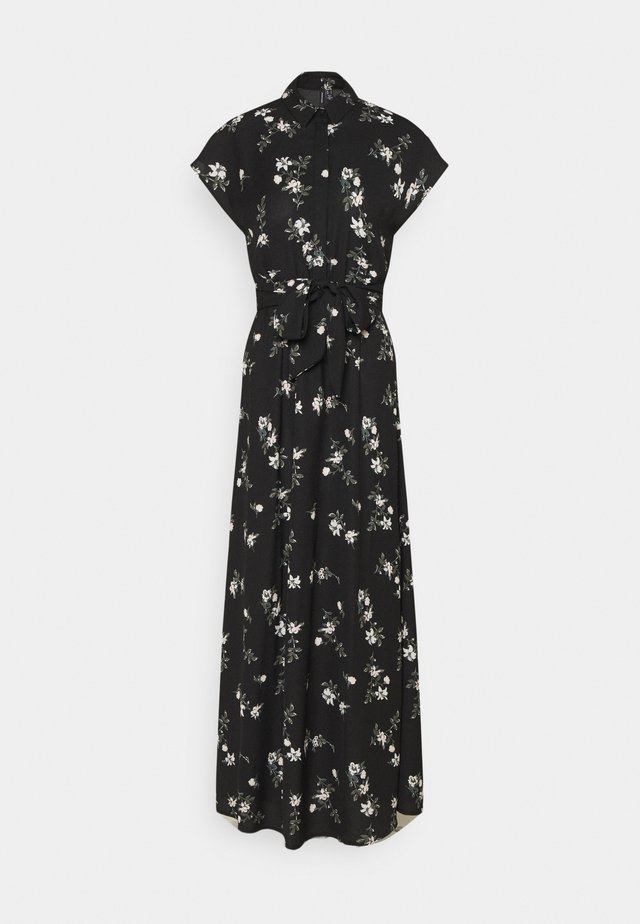 VMFALLIE LONG TIE DRESS - Korte jurk - black