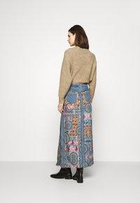 Desigual - Maxi skirt - blue - 2