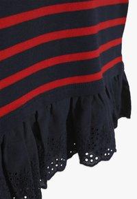 Polo Ralph Lauren - STRIPE - Polotričko - hunter navy/red - 2