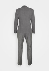 Isaac Dewhirst - CHECK DOUBLE BREASTED SUIT - Oblek - grey - 16