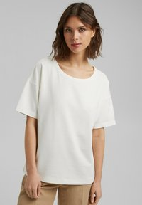 Esprit Collection - Basic T-shirt - off white - 0