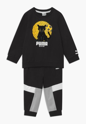 ANIMALS JOGGER SET - Chándal - black