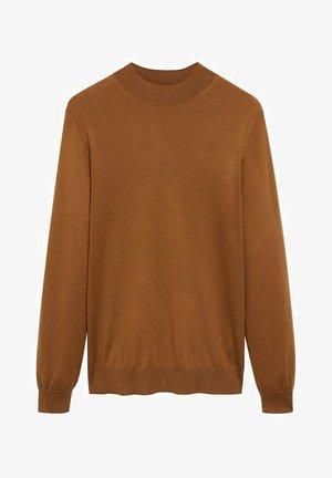 WILLYM - Sweater - mittelbraun