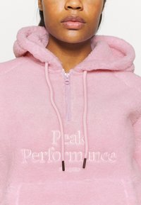 Peak Performance - ORIGINAL PILE HALF ZIP - Hoodie - cold blush - 4