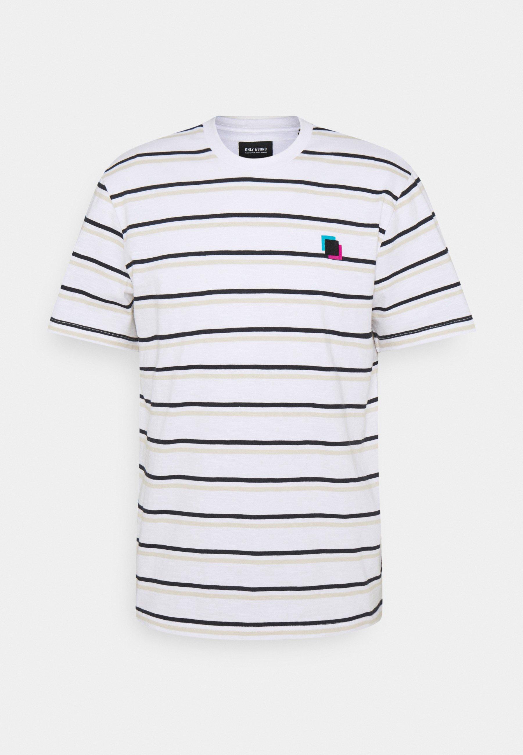 Men ONSVILLEM LIFE TEE - Print T-shirt