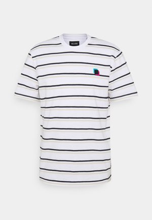 ONSVILLEM LIFE TEE - Print T-shirt - white