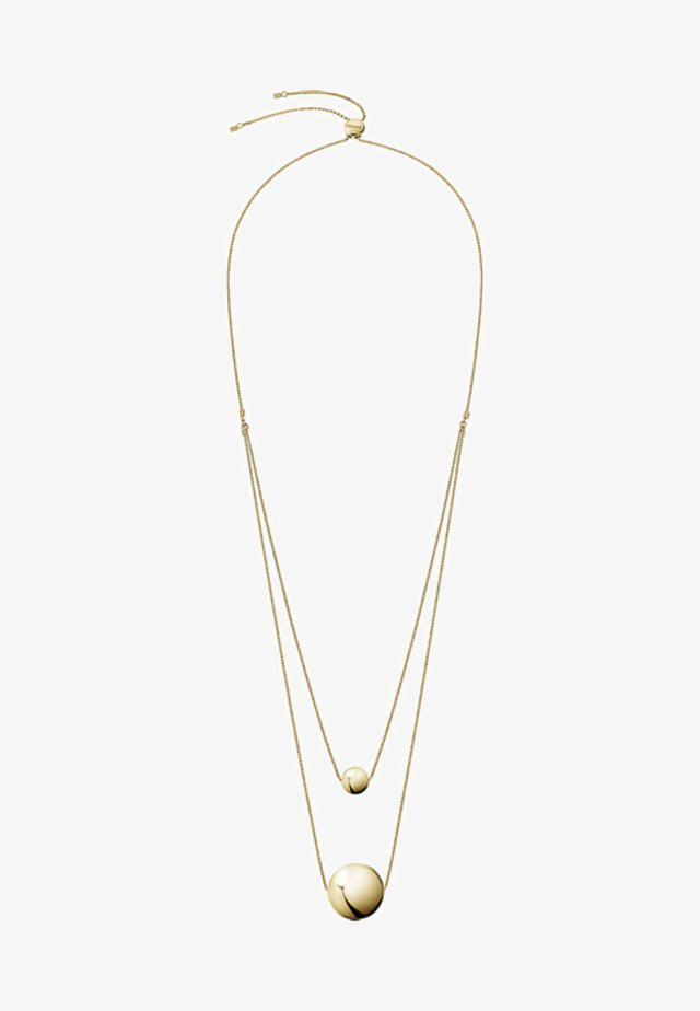 Necklace - gold coloured