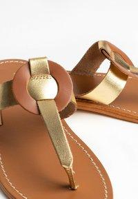 Les Bagatelles - ROSHEEN - T-bar sandals - gold - 3