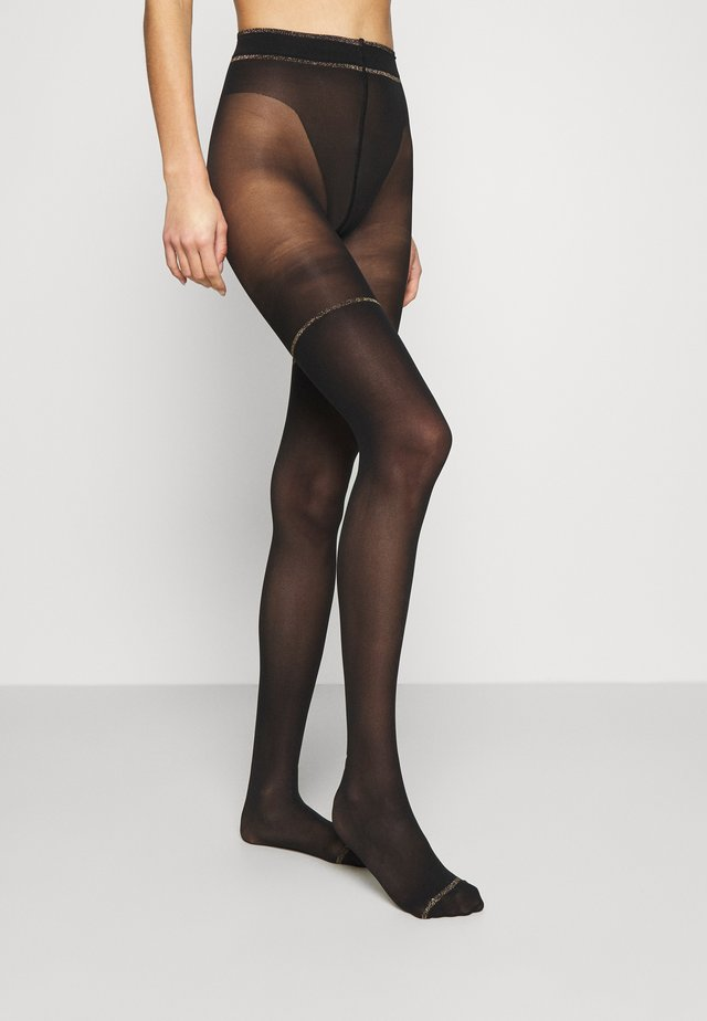 ELEGANCE - Collants - black