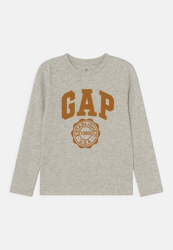 FRAN BETTER GRAPHIC - Maglietta a manica lunga - grey heather