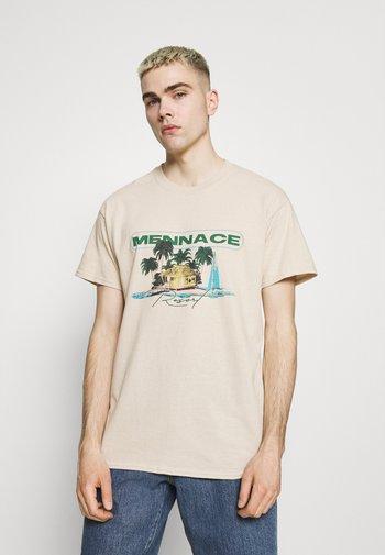 HAVANA RESORT REGULAR SHIRT - Print T-shirt - sand