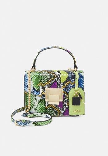 BUGSY - Handbag - purple/light gold