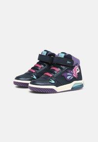 Geox - INEK GIRL - Baskets montantes - navy - 1