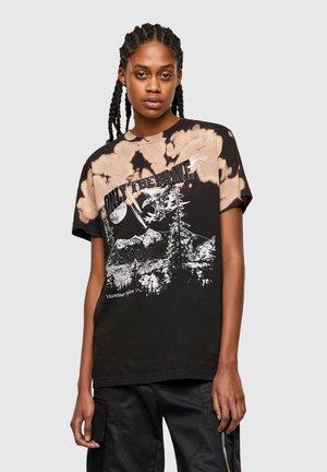 T DARIA R - Print T-shirt - black