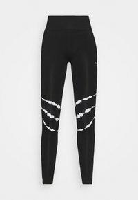 ONLY Play - ONPMIKO CIR - Leggings - black/white - 4