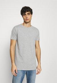 Kronstadt - ELON  3PACK - T-shirt basique - grey/white/black - 3