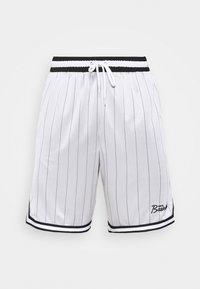 DNA SHORT - Sports shorts - white/black