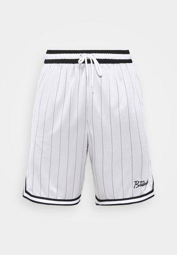 DNA SHORT - Pantaloncini sportivi - white/black