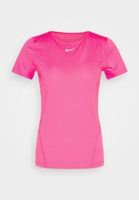 Nike Performance - ALL OVER - Basic T-shirt - hyper pink/white - 4