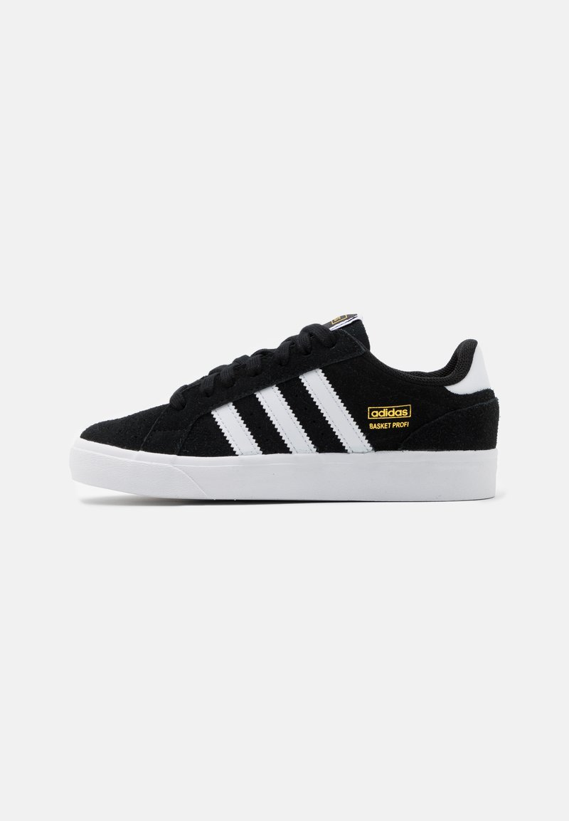 adidas Originals - BASKET PROFI UNISEX - Trainers - core black/footwear white/gold metallic
